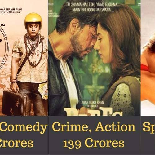 The 15 Highest Grossing Films Of Top Bollywood Actors In Different Genres