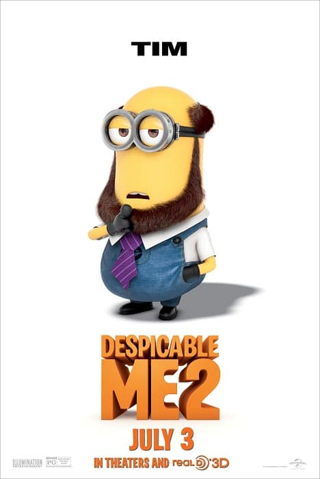 Despicable Me 2 Theatrical Poster