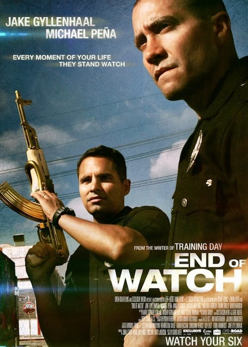 Jake Gyllenhaal, Michael Pena - Poster - End of Watch
