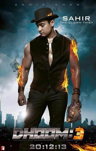 Aamir Khan - Character Poster - Dhoom 3