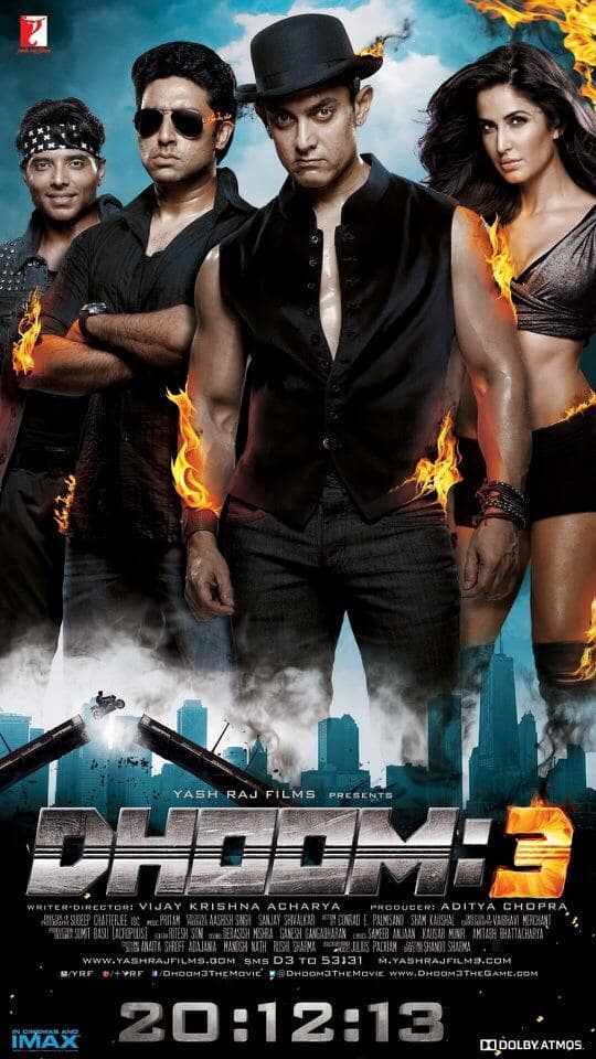 Main Poster - Dhoom 3