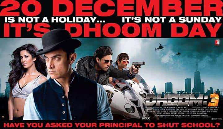 Banner 1 - Dhoom 3