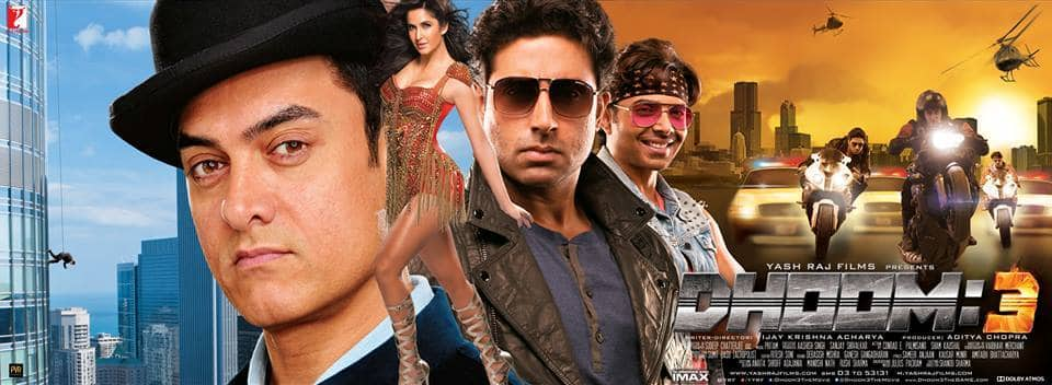 Banner 3 - Dhoom 3