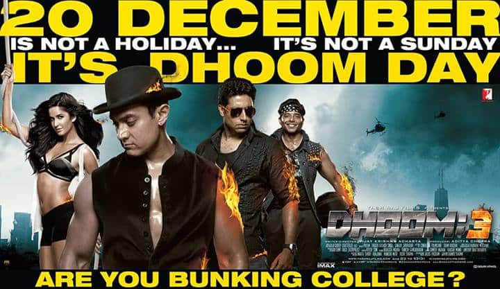 Banner 2 - Dhoom 3