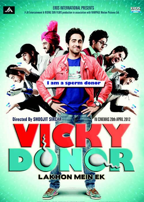 Vicky Donor - Poster 2