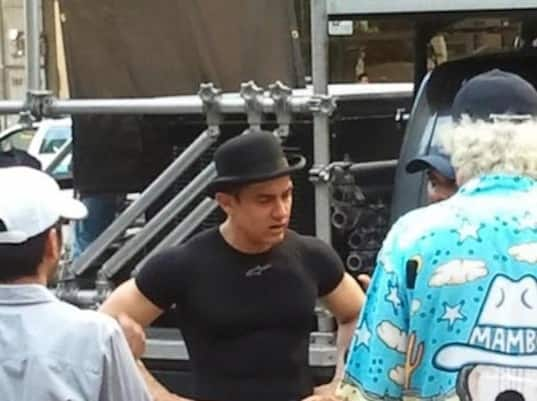 Dhoom 3: Production Still 4