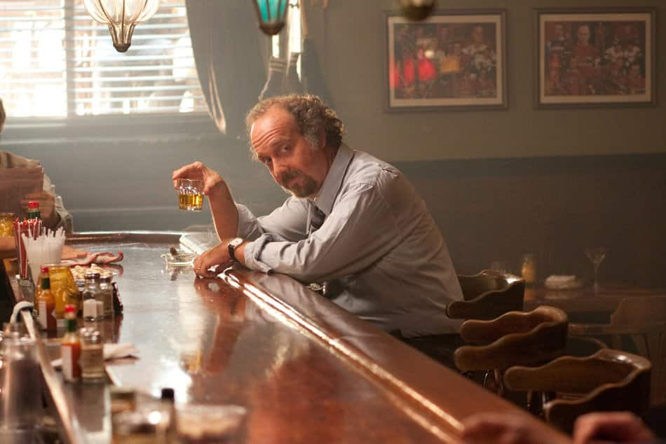 A drunk Paul Giamatti in Barney's Version