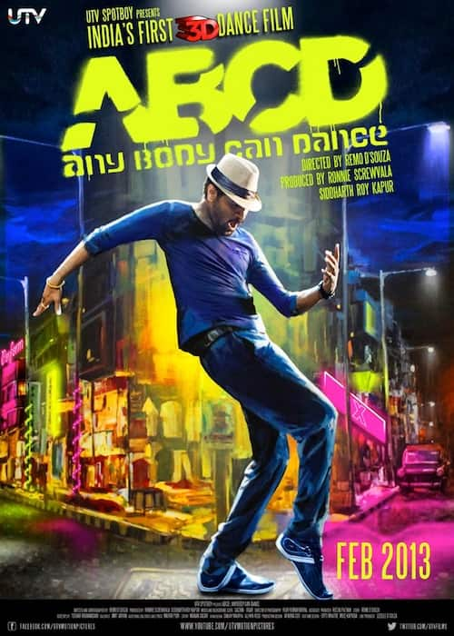 Prabhu Deva - Official Poster - ABCD Any Body Can Dance