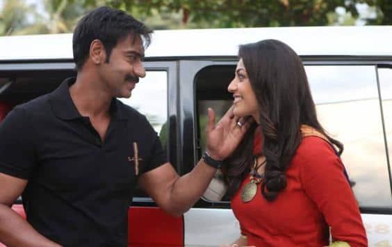 Ajay Devgan & Kajal Aggarwal in Singham Still 3