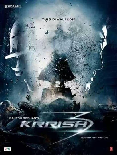 First Look Poster - Krrish 3