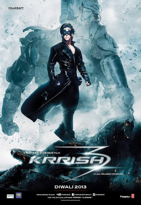 Theatrical Poster 2 - Krrish 3