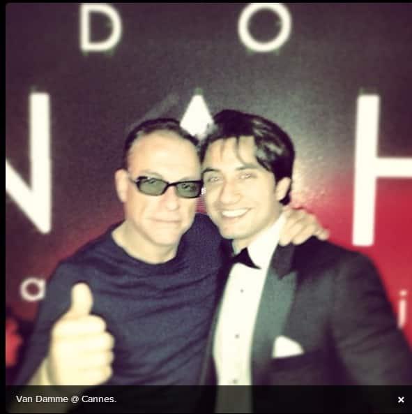 Ali Zafar was at Cannes! 1