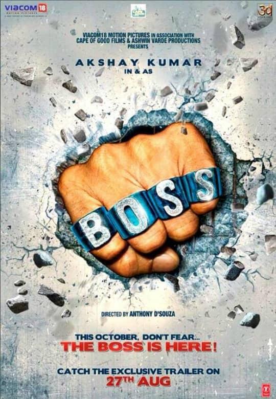 First Look Poster - Boss