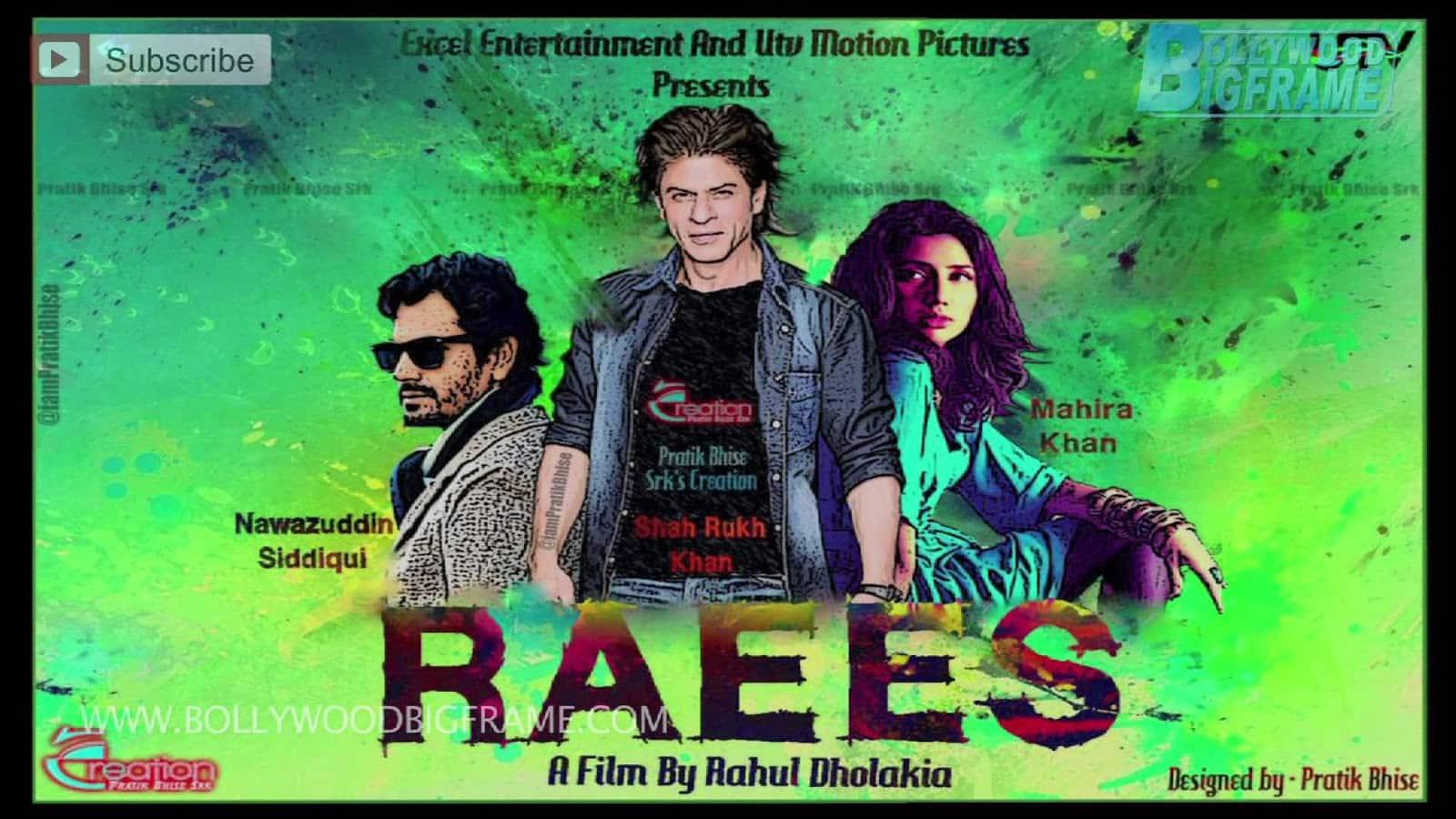 SRK's Raees Isn't Based on Abdul Latif - फ़िल्म 'रईस' से जुड़ी अफवाहों पर शाहरुख़ ने अपनी चुप्पी तोड़ी !