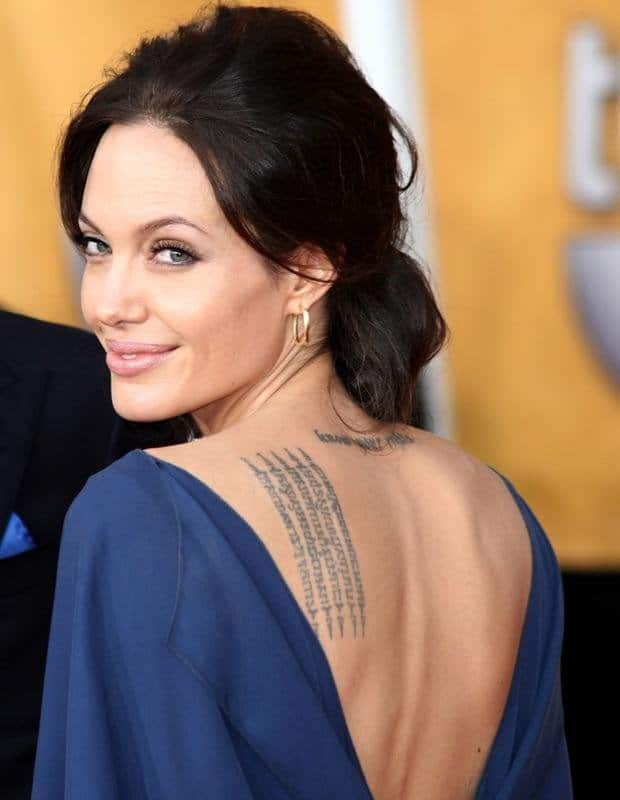 12 Hollywood Celebrities With Indian Tattoos!