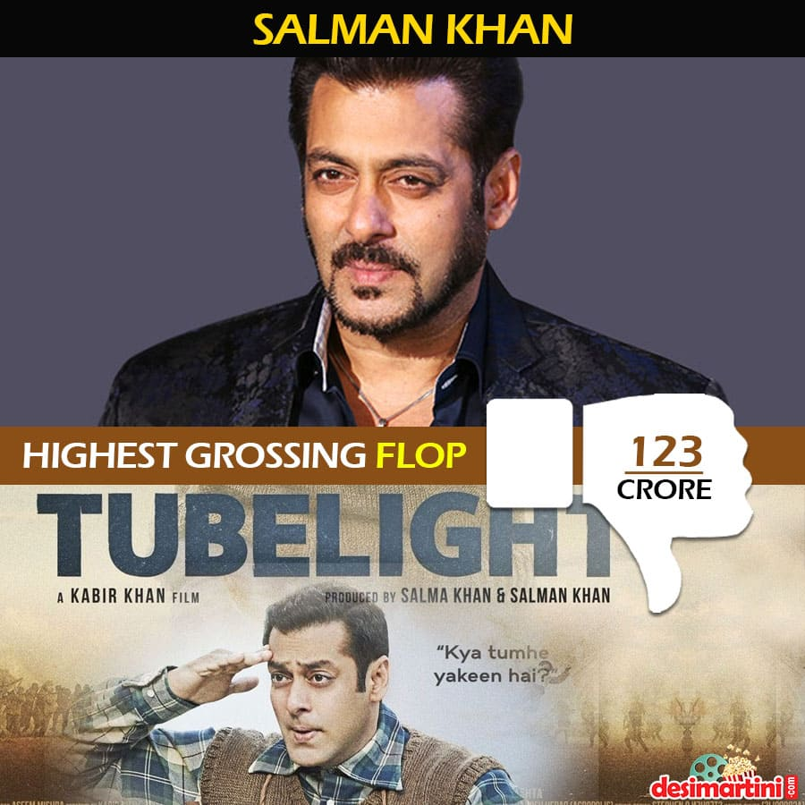 14 Bollywood Actors And Their Highest Grossing Flop Films