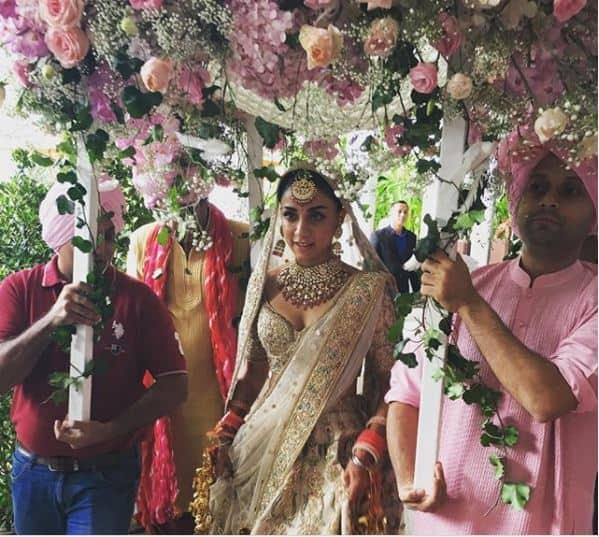 तस्वीरें : किसी सपने जैसी खूबसूरत थी एक्ट्रेस अमृता पुरी की शादी!