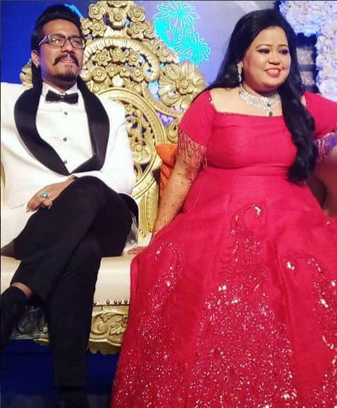 कॉमेडियन भारती सिंह की मेहन्दी और संगीत में जमकर नाचे टीवी के ये सितारे !