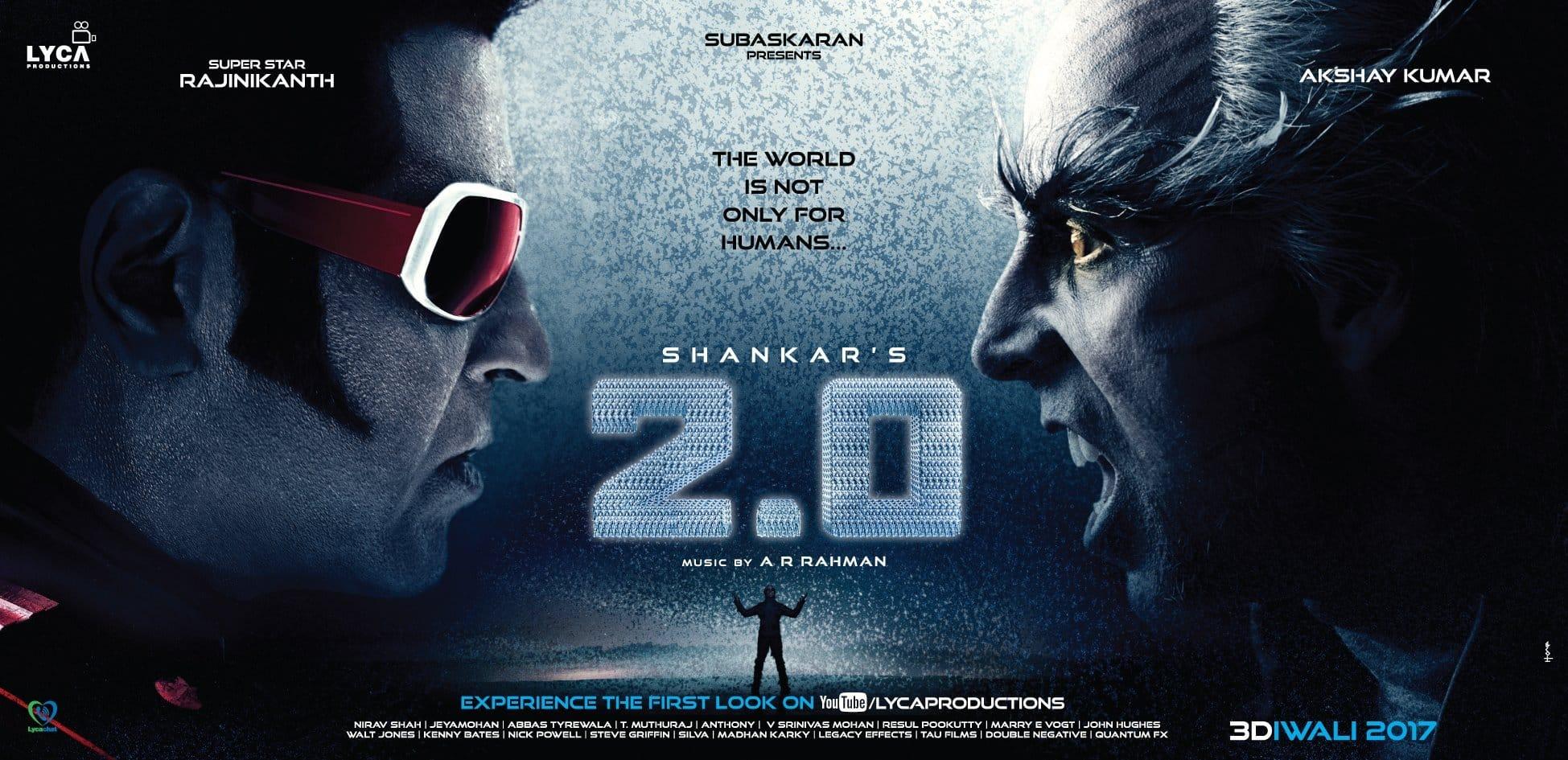रिलीज़ से पहले अक्षय कुमार की फिल्म 2.0 ने की 110 करोड़ की कमाई !
