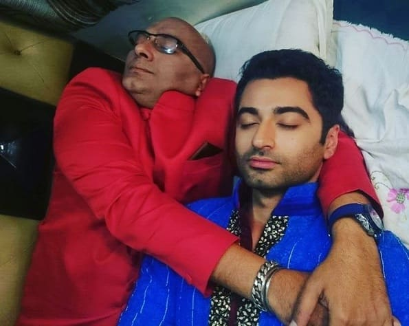 These Pictures Of TV ActorsSleeping On Sets Are So Cute!