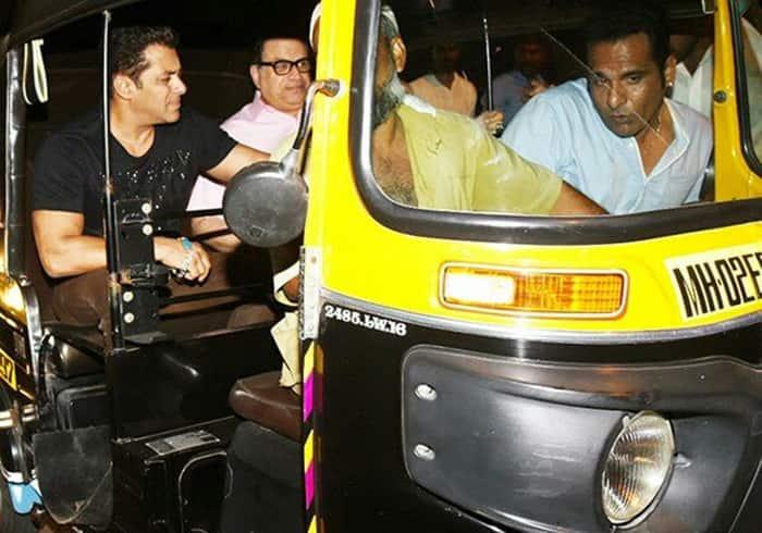 आखिर क्यों सुपरस्टार सलमान खान को करनी पड़ी ऑटोरिक्शा की सवारी ?