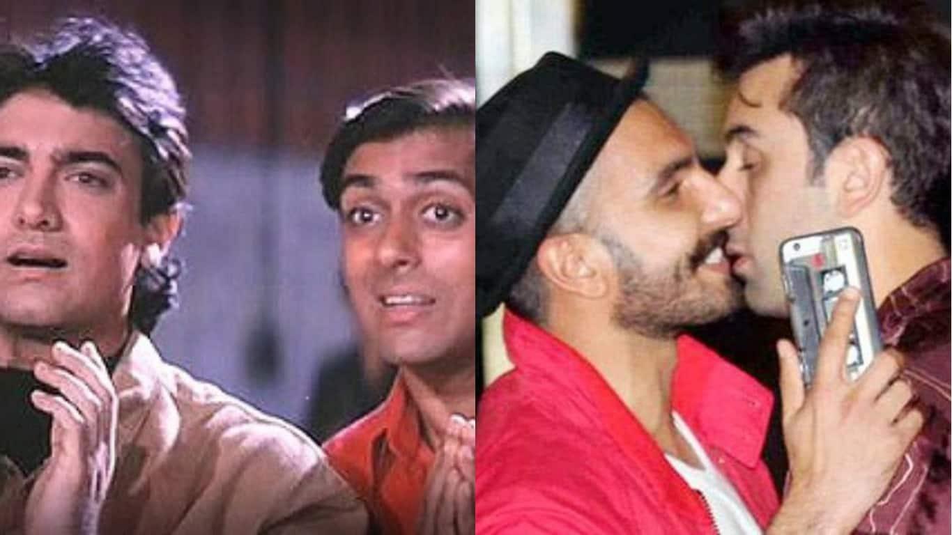 फिल्म 'अंदाज़ अपना अपना' में सलमान-आमिर नहीं बल्कि ये बन सकते हैं अमर-प्रेम !