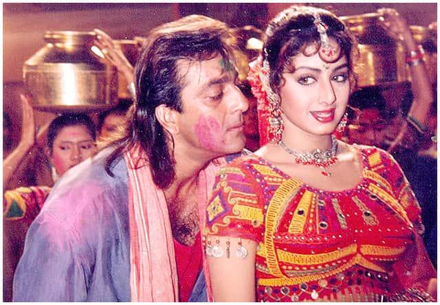 25 साल बाद एक बार फिर साथ नज़र आ सकती है संजय  दत्त और श्रीदेवी की जोड़ी !