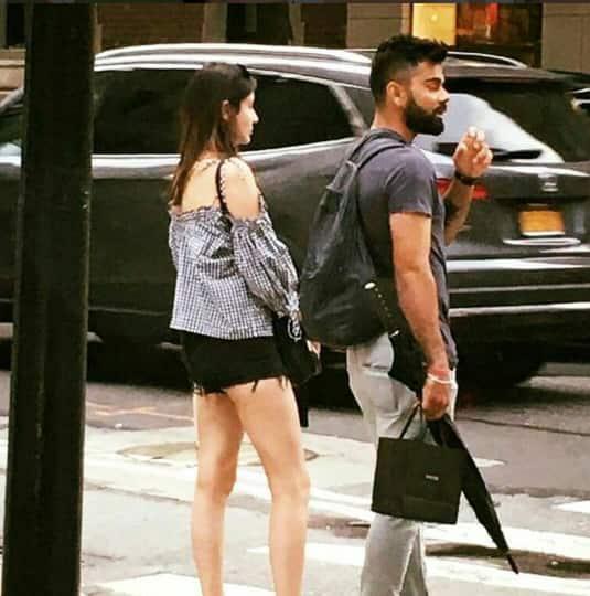 कुछ इस तरह न्यूयॉर्क में समय बिता रहें हैं विराट कोहली और अनुष्का शर्मा !