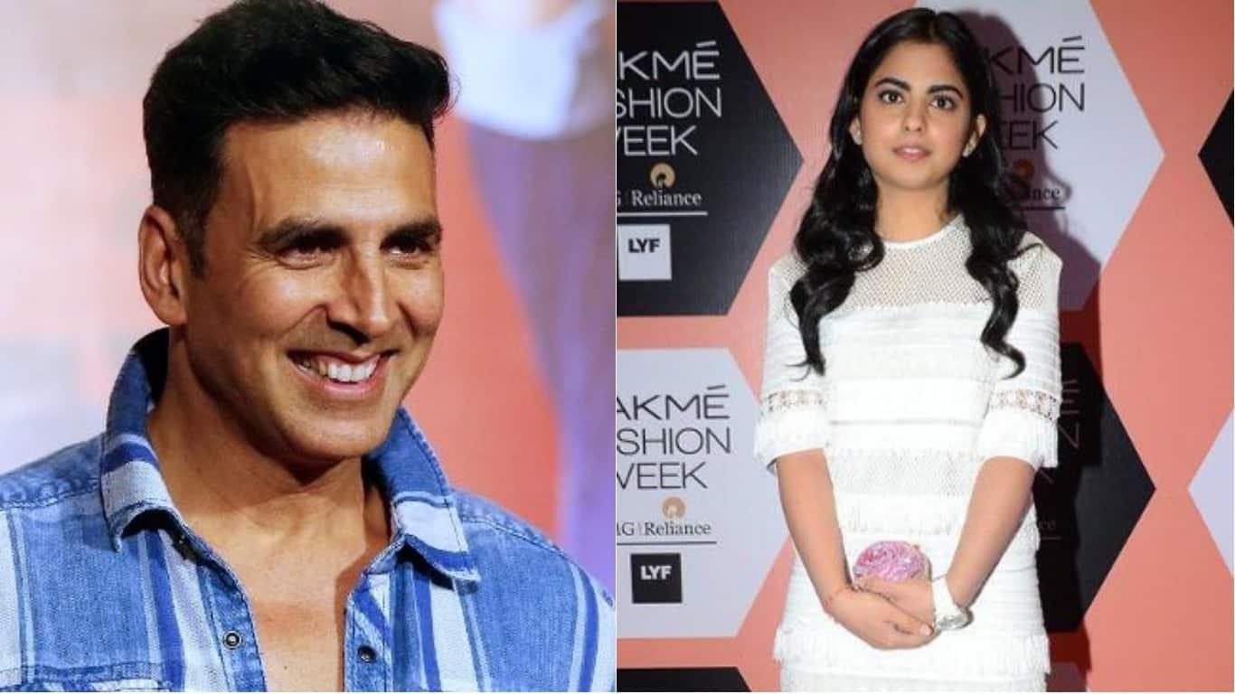 अक्षय कुमार की फिल्म से बॉलीवुड में डेब्यू कर रही हैं देश के सबसे अमीर बिजनेसमैन की बेटी !