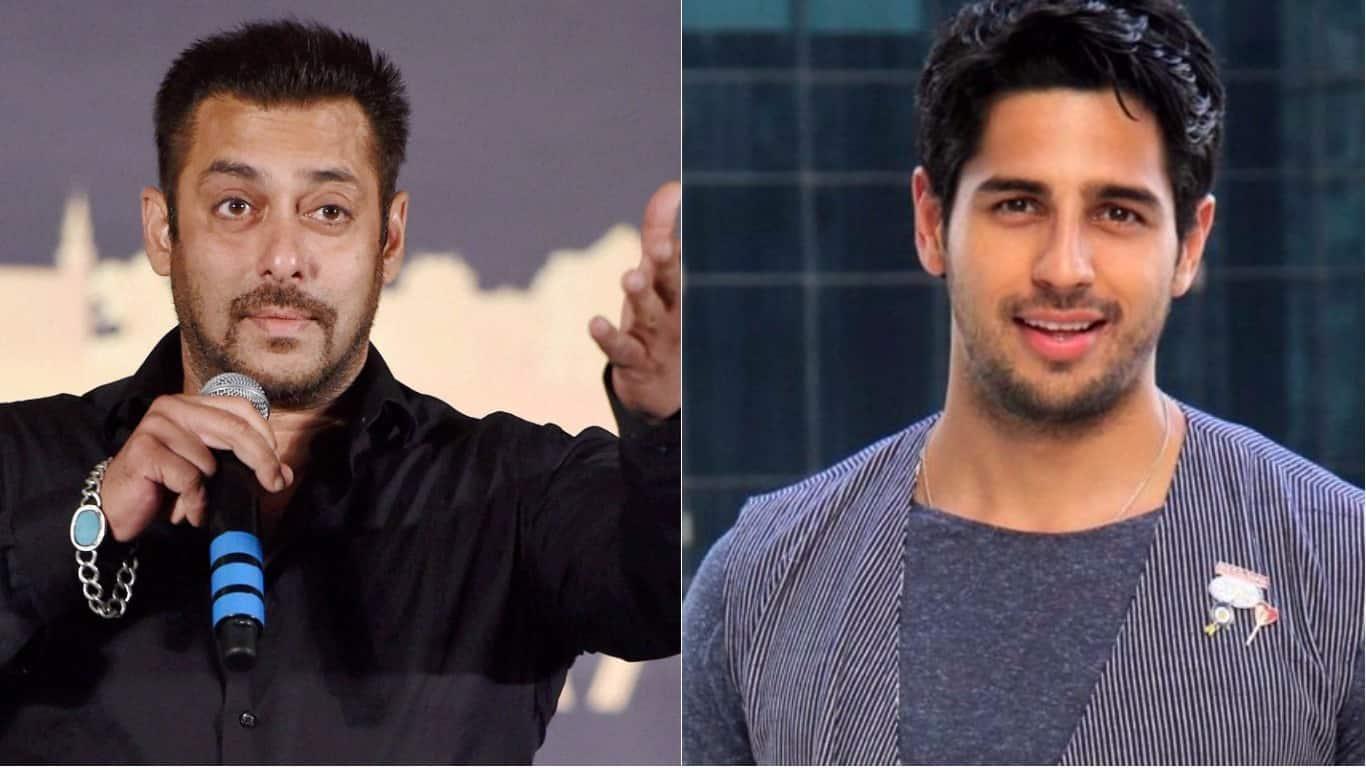 फ़िल्म 'रेस' 3 में सलमान खान के साथ काम करेंगे सिद्धार्थ मल्होत्रा?