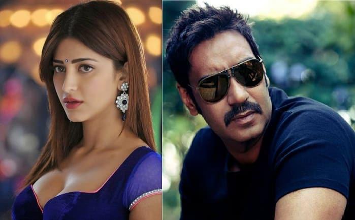 श्रुति हासन ने अजय देवगन की 'बादशाहो' से वॉक आउट किया?