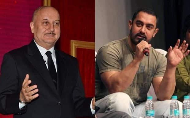 आमिर सोचते हैं कि वह सही है और बाकी दुनिया गलत है: अनुपम खेर