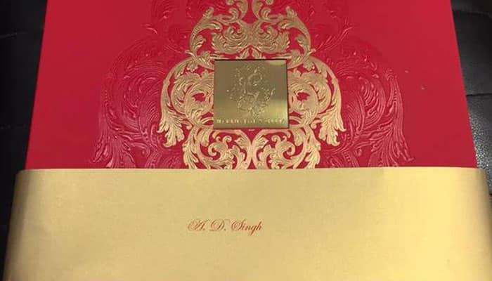 हरभजन सिंह और गीता बसरा की ग्रैंड शादी का कार्ड आया सामने