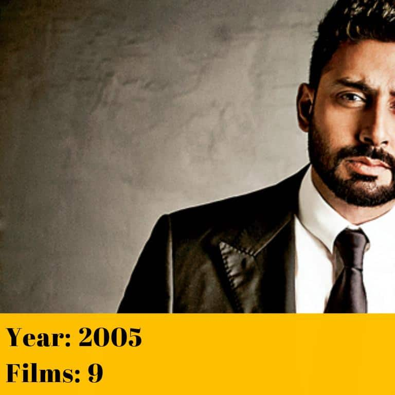 13 Popular Bollywood Actors And The Maximum Films They Have Done In A Year