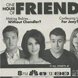 Have You Seen These Vintage Ads Of F.R.I.E.N.D.S Before?