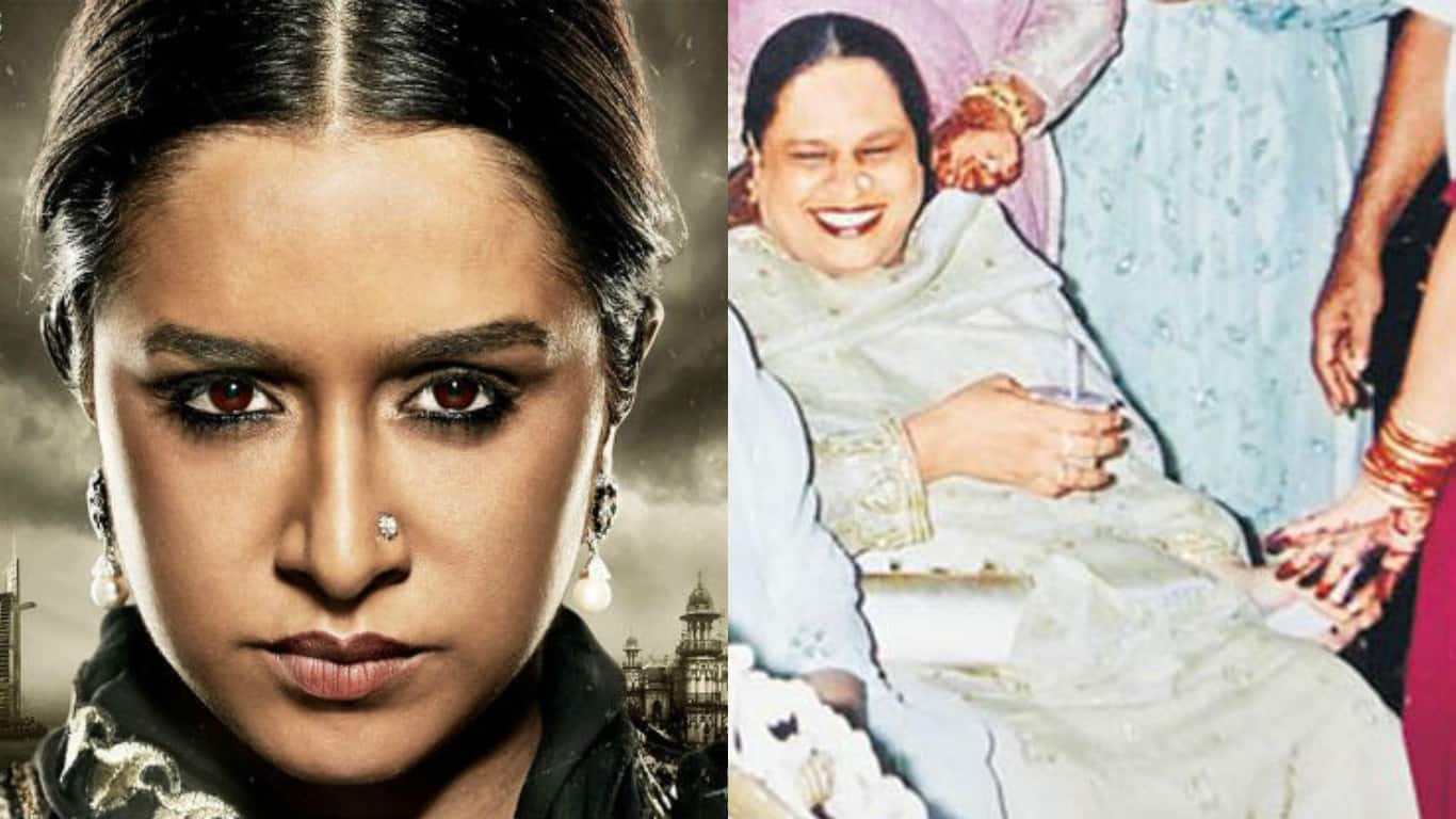 Haseena First Look Poster: Shraddha Kapoor Looks Fierce