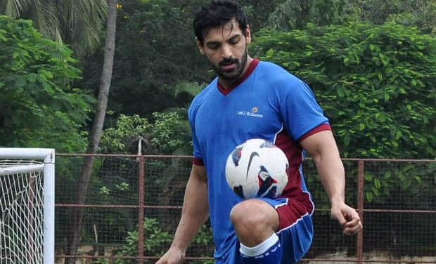 Image result for JOHN ABRAHAM AS FOOTBALLER