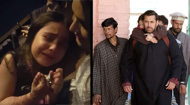 सलमान खान की 'बजरंगी भाईजान' ने एक छोटी बच्ची को रुलाया