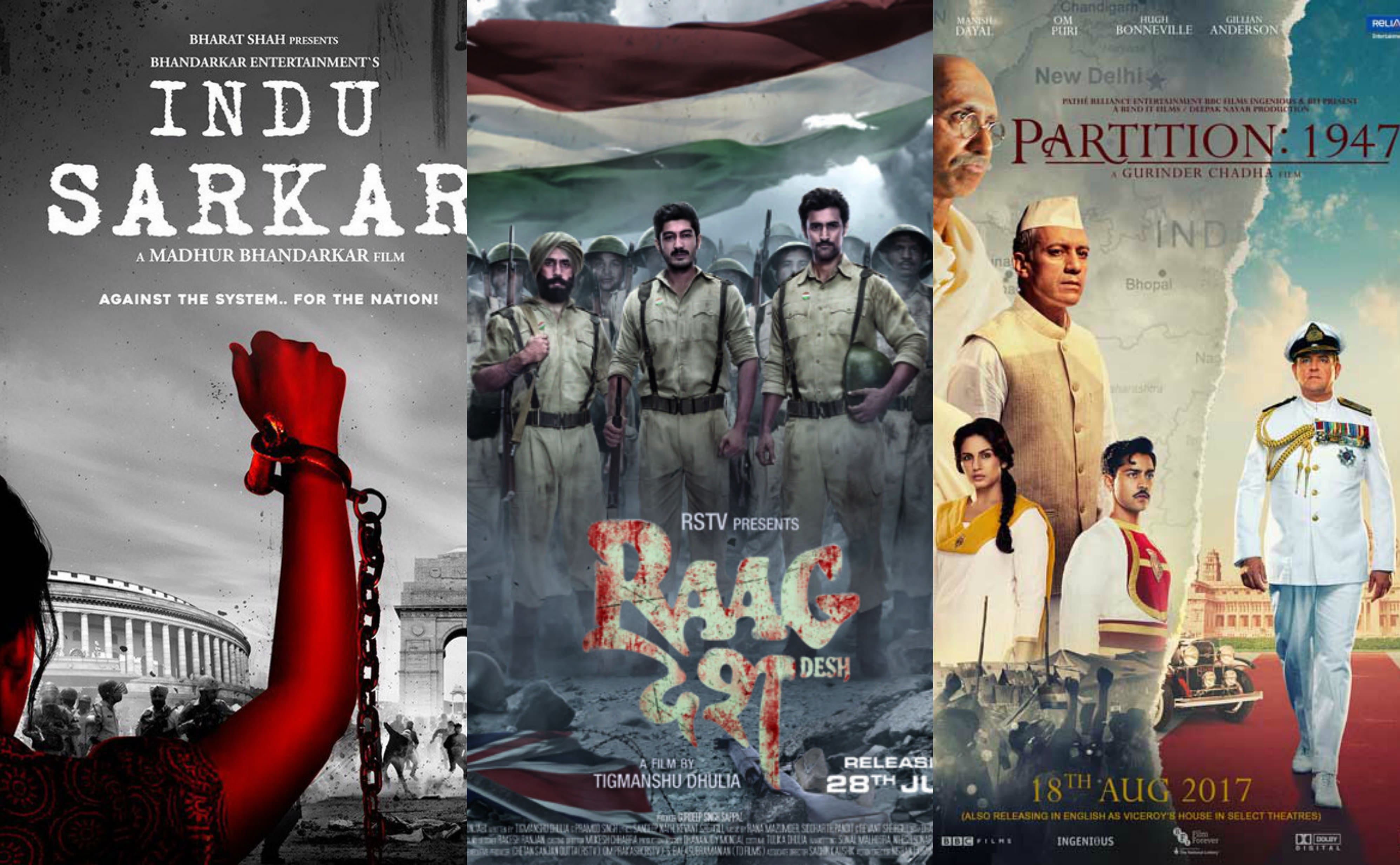 Indu Sarkar, Partition: 1947 And More - Is Bollywood Audience Not Yet Ready For Uncomfortable Truths?