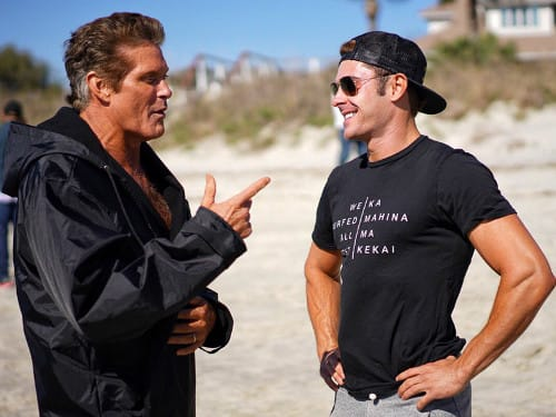 """Was it like &squot;Baywatch&squot;? Not even close"":David Hasselhoff"