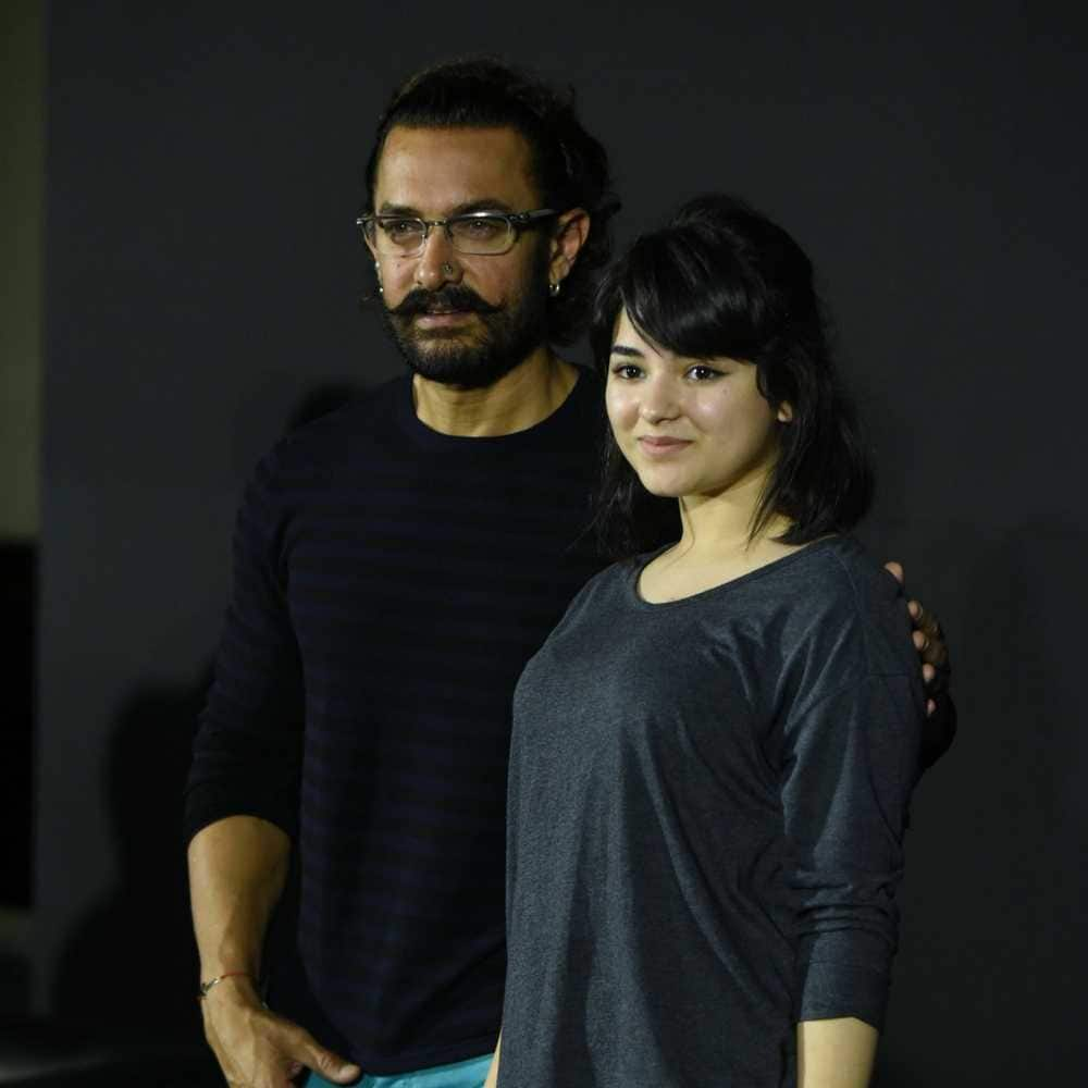 I Don't Watch Aamir Khan Films Says Zaira Wasim...See Why