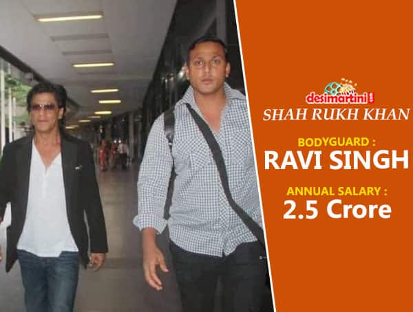 The Pay Packages Of These Real Life Bodyguards Of Bollywood Stars Will Make You Want To Quit Your Job