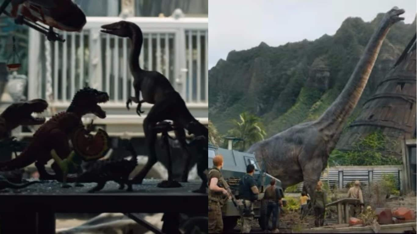 Jurassic Park Fallen Trailer Kingdom Promises More Action Explosions and Dinosaurs