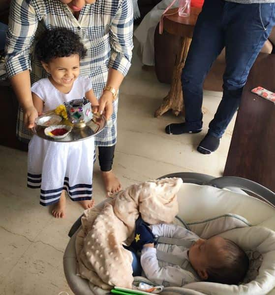 These Pictures Of Naitik AKA Karan Mehra's Son Celebrating His First Rakhi Are Cuteness Overload!