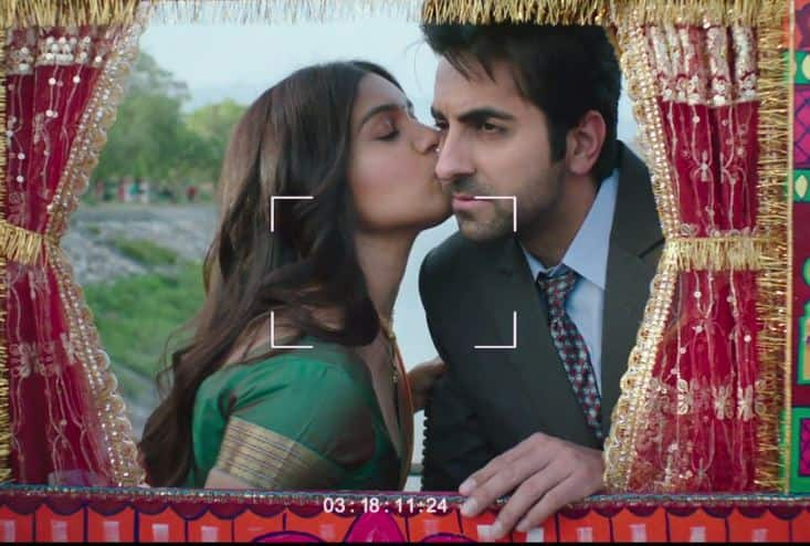 WATCH: Ayushmann and Bhumi Look Super Cute In Shubh Mangal Saavdhan's Rocket Saiyyan Song!