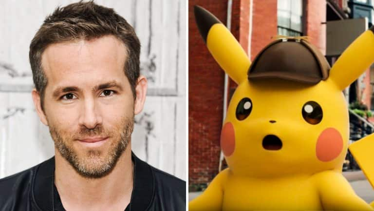 Ryan Reynolds To Lend His Voice To The Character Of 'Detective Pikachu'