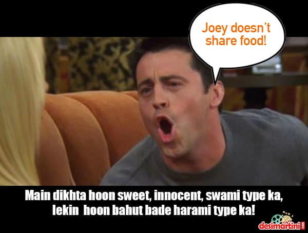 Bollywood Songs And Dialogues That Perfectly Fit These FRIENDS Situations!