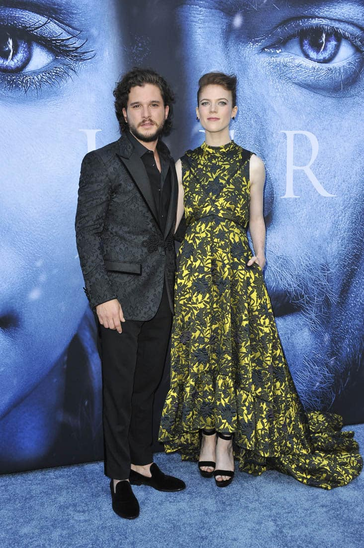 Kit Harington And Rose Leslie Of Game Of Thrones Engaged!
