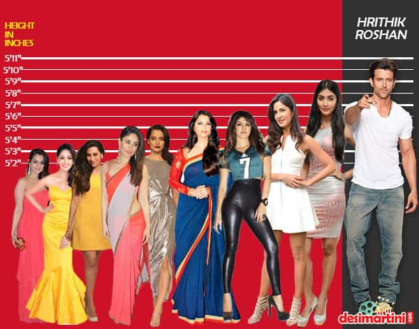 7 Popular Bollywood Actors And Where They Stand In Height Comparison To All Their Leading Ladies