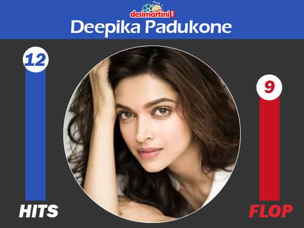 Bollywood Actresses Who Have More Number Of Hit Films Than Flops